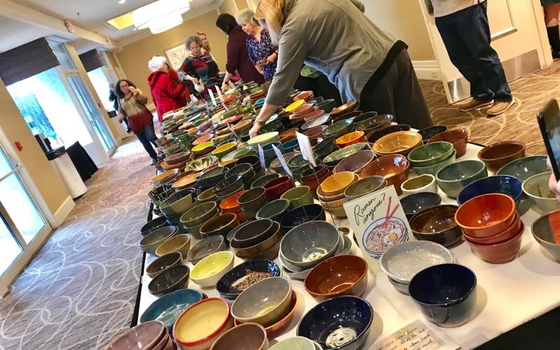 Empty Bowls Fundraiser