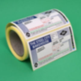 Wash off Paper Recyclable Labels for Takeaways