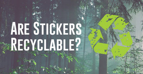 Are Stickers and Labels Recyclable?