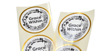 Luxurious Cosmetics Labels - Crown Labels