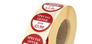 Peel Price Stickers - Crown Labels