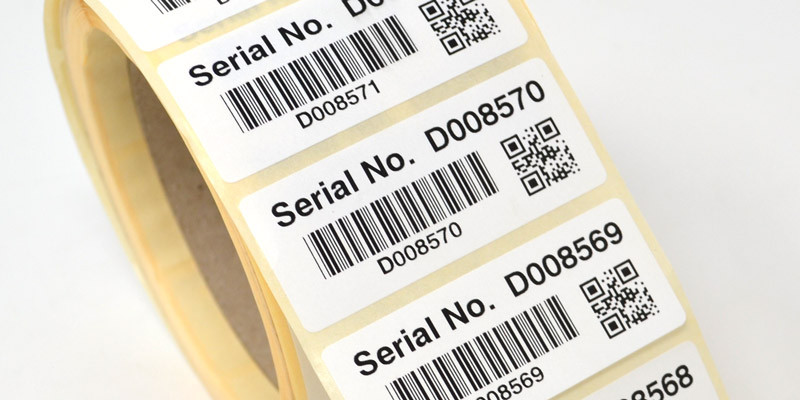 QR Code Labels - Crown Labels