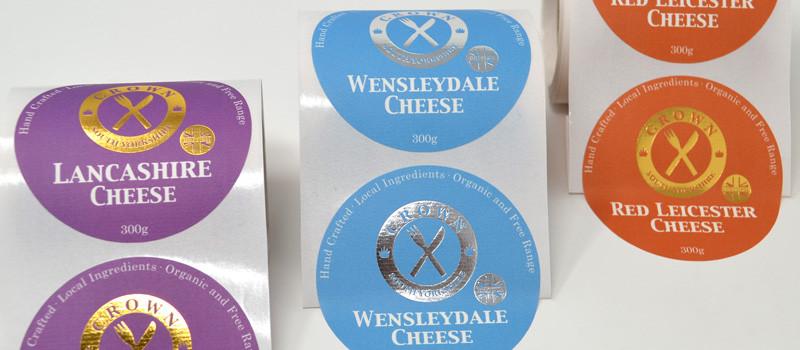 Variable Foil Labels