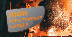 Heat Resistant High Temperature Labels