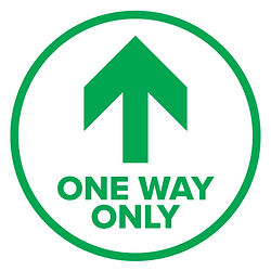 One Way Only Labels