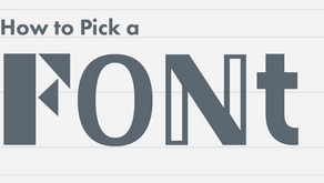 How to Choose a Font for Print