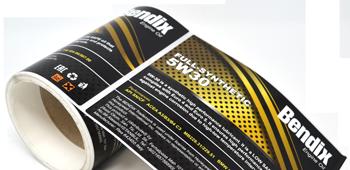 Automotive Oil Lubricant Labels - Crown Labels