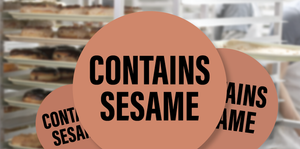 Sesame Seed Stickers