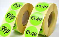 Price and Discount Labels