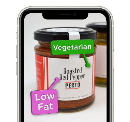 Augmented Reality Product Labels