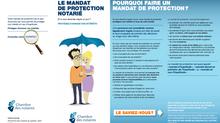 Le mandat de protection notarié ou mandat d'inaptidude