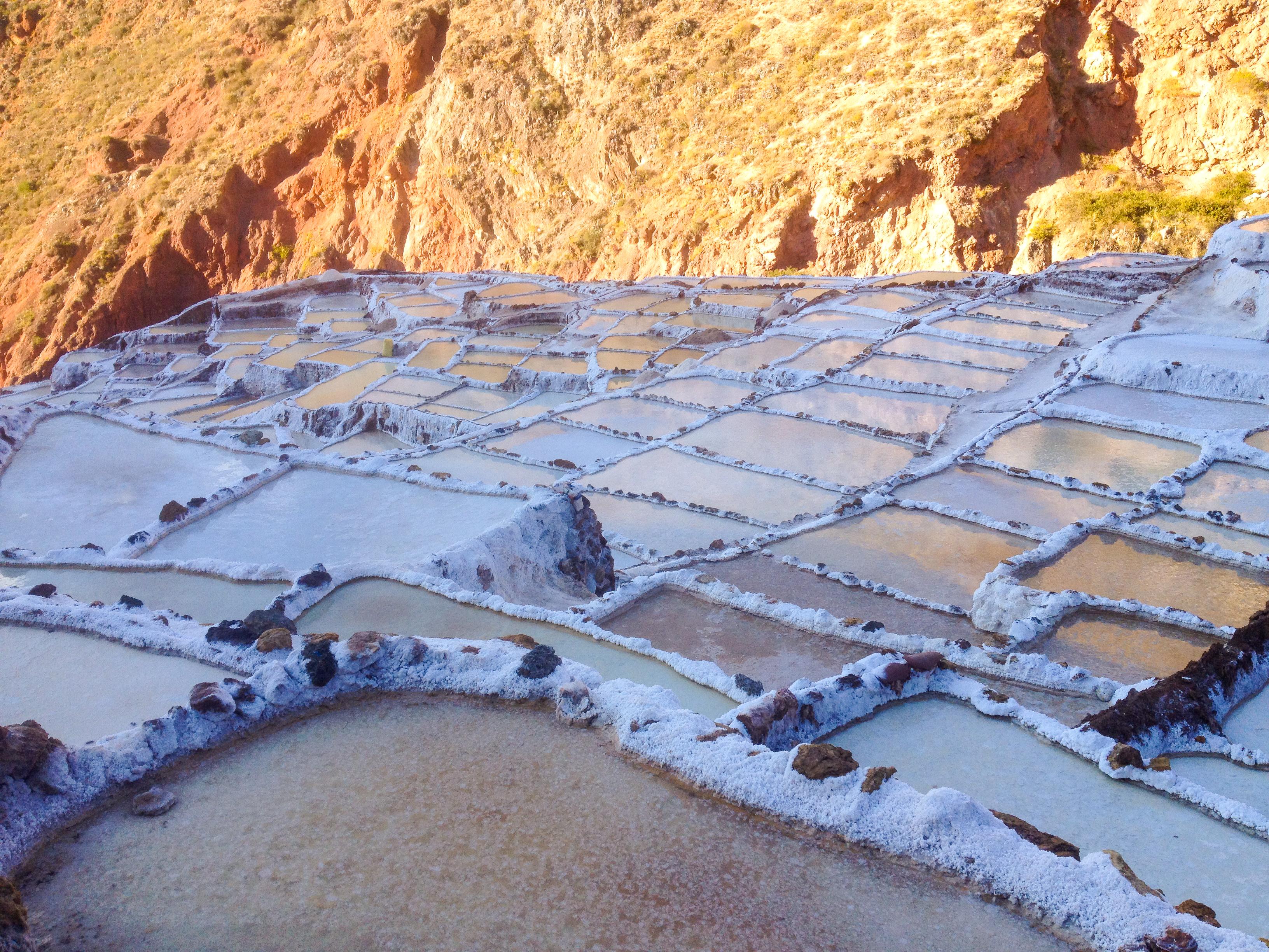 Salt Evaporation Pools