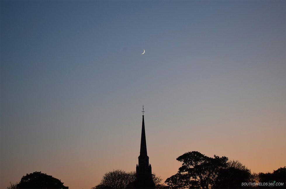 Harton Cemetery Moon
