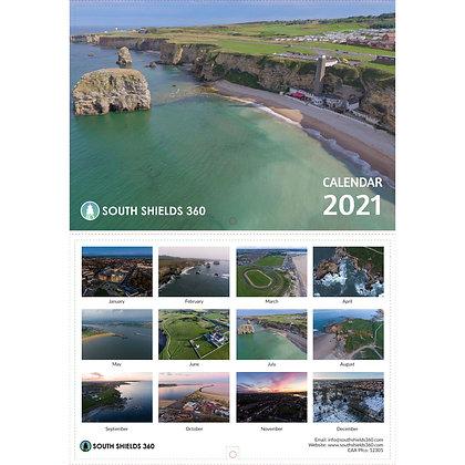 South Shields 2021 Calendar