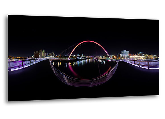 Millennium Bridge, Newcastle / Gateshead Quayside - MDF Mount