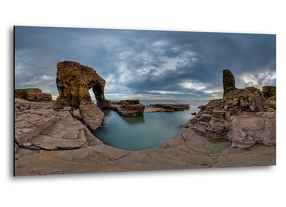 Lizard Arch and North Sea - MDF Mount