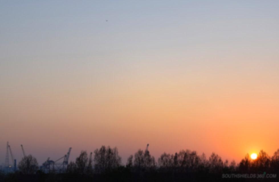 Tyne Dock Sunset