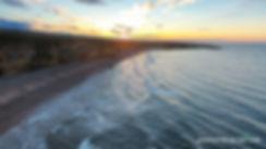 Marsden Bay North Sea Sunset