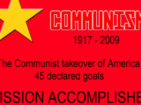 The Zionist Communist Takeover Of America - 45 Declared Goals