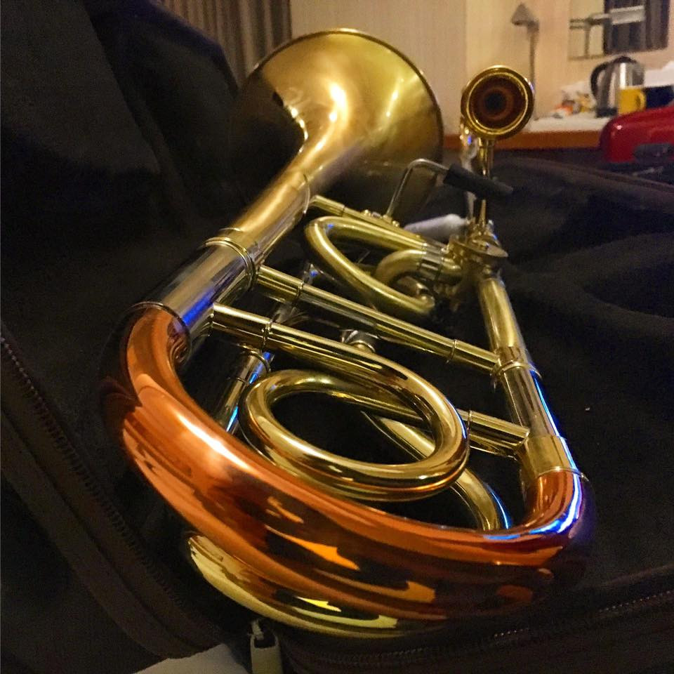 My new horn from BAC