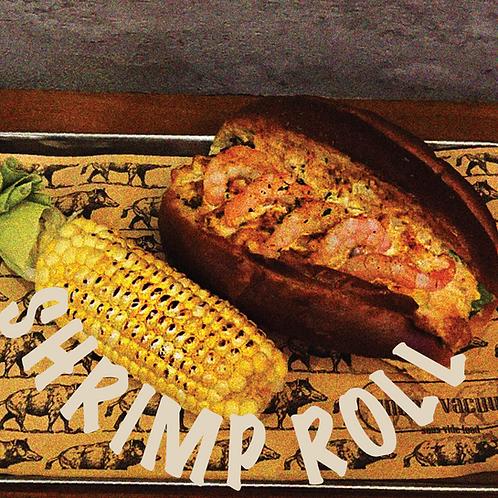 卡真蝦包配墨西哥慢煮粟米花Cooking Pack