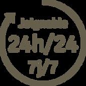 Joignable 24h/24, 7j/7