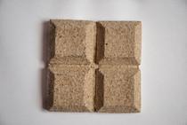 Natural eggshell tile
