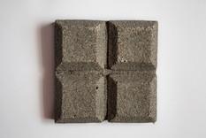Black eggshell tile