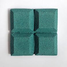 Blue eggshell tile