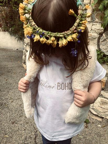 T-shirts brodés Mini boho/Baby boho