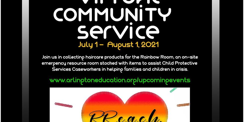 RR.E.A.C.H. Virtual Community Service Project