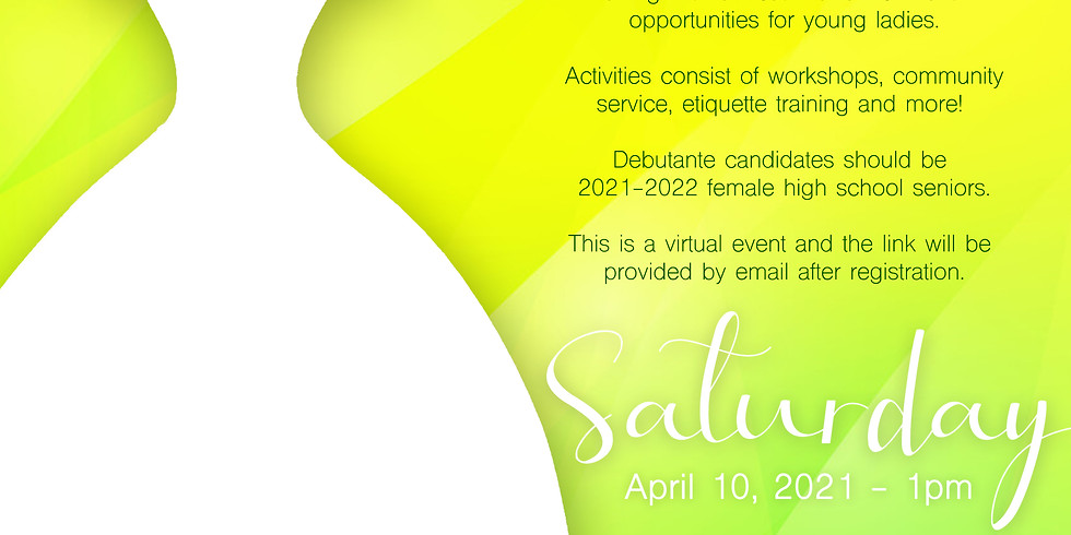 2021 Debutante Information Assembly