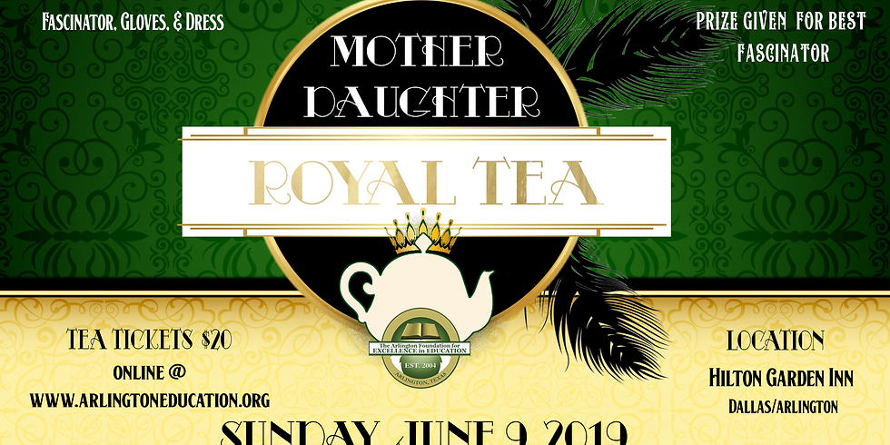 Mother Daughter Royal Tea