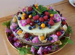 Raw Bröllopstårta