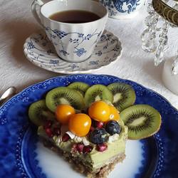 Raw Avokado/Lime tårta