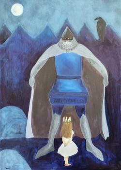 Blå riddare