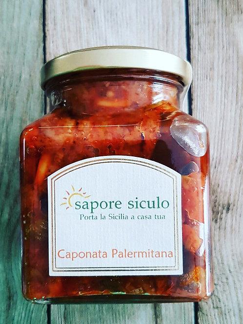 Caponata di Sicilia Palermitana ohne Peperoni