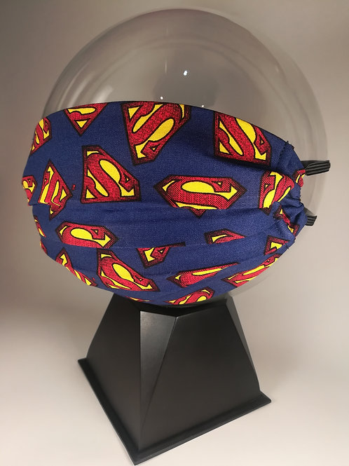 Superman!  - 100% Cotton Mask
