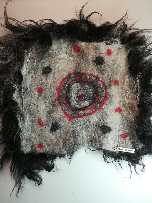 Pet Bed small - Arty - 100% Wool