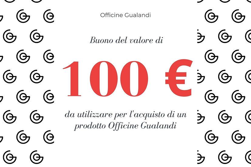 Buono regalo Gualandi da 100 euro