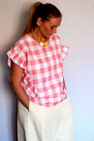 Blusa PicNic rosa pastello