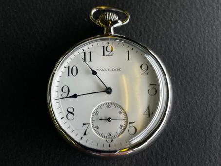 今、時計修理ブームですか?