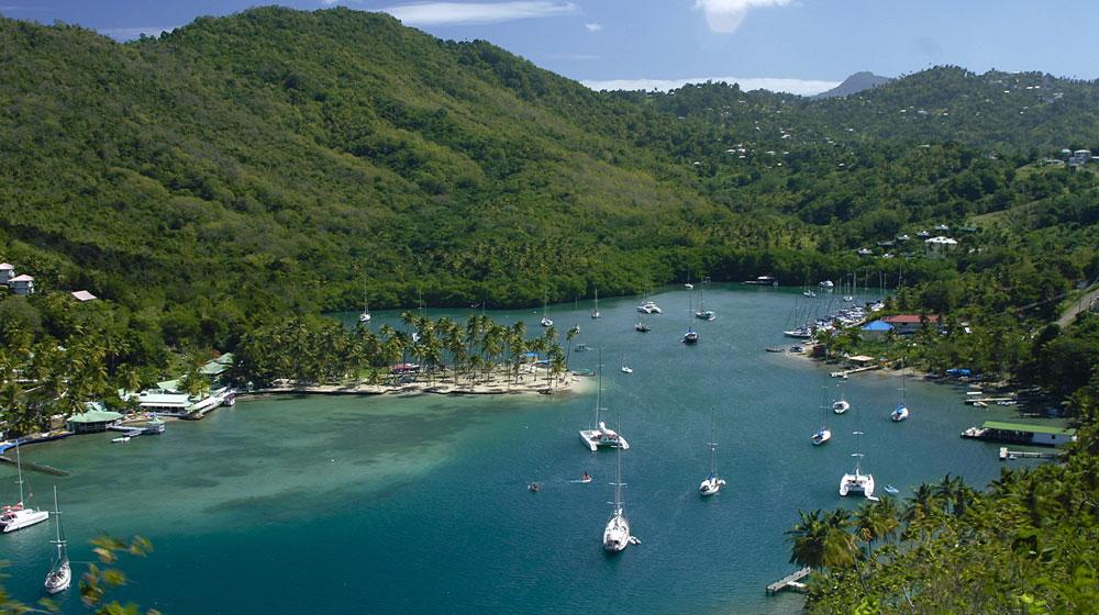 St. Lucia, Marigot Bay