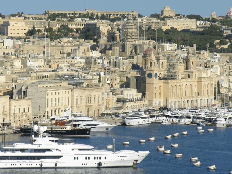 Málta, Grand Harbour Marina