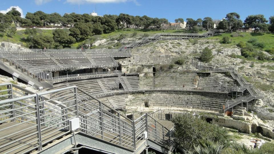 Cagliari, az amfiteatrum
