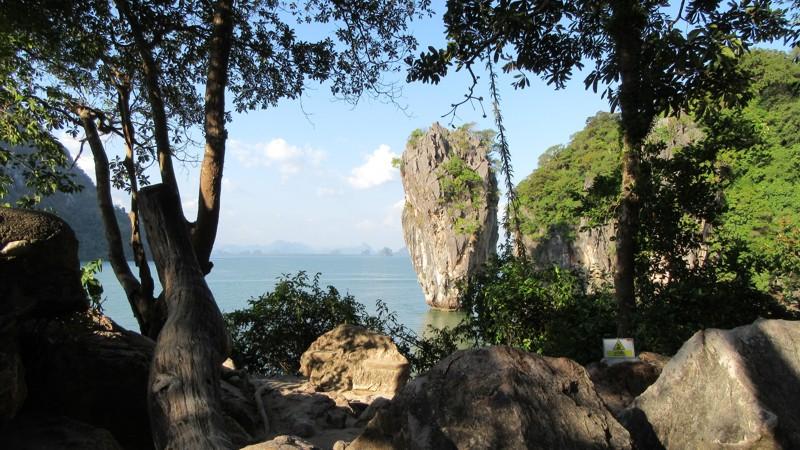 Phang Nga-öböl, James Bond-szikla