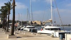 Hajóink Brindisi kikötőjében