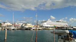 St. Kitts - Bassaterre kikötője