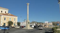 La Maddalena, Garibaldi-oszlop