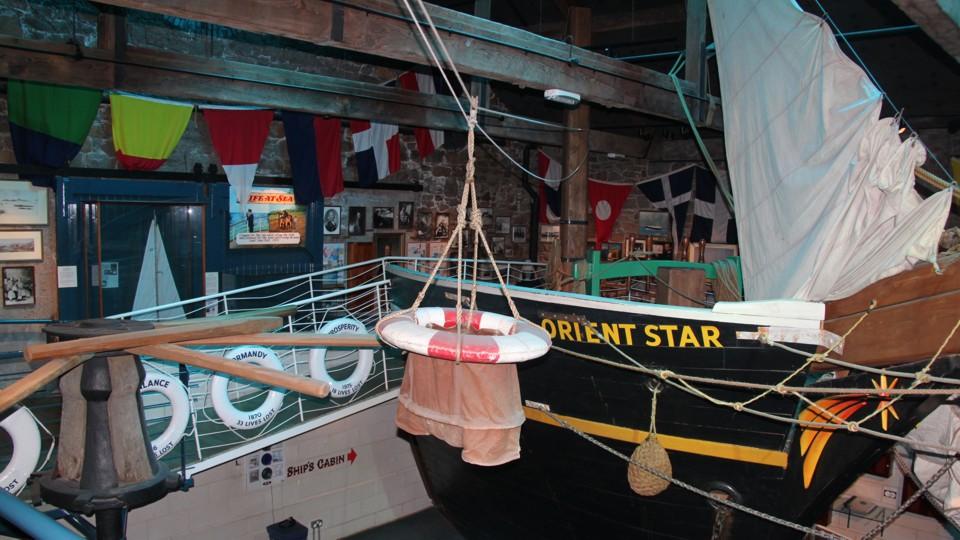 Jersey, hajózási múzeum